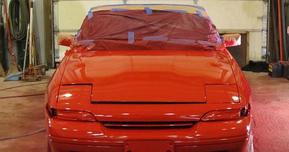 paint car
