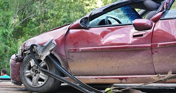 wrecked auto