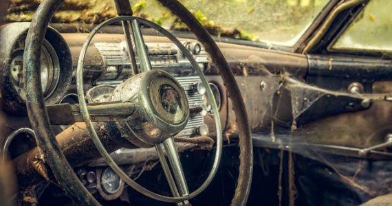 classic auto interior