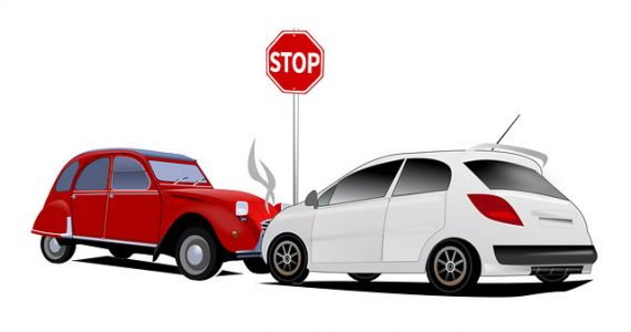auto accident whose fault